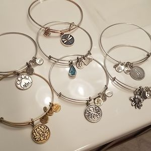 Alex and ani braclets 7 for $25!